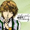 false_monk: Not ever smiling