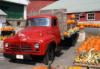 red truck pumpkins