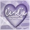 Leslie, mama