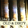 books old and dirty