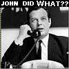 John did WHAT