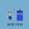doctor/tardis cartoon otp