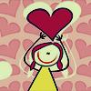 girl w/ heart