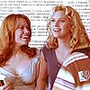 Tracy: Haley&Peyton{at school}