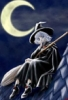 грустная ведьма