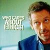 (ethics?)