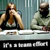 it's a team effort