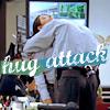 Syd Gill: A: Hug attack