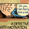 Verba volant, scripta manent: detective with motivation