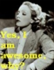 Silver Screen-Dietrich Awesome