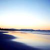 Ocean to the granite shore