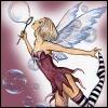 Jennifer (The Butterfly Poet): Fairy Blowing bubbles