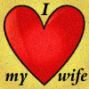 I heart my wife