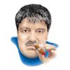 c сигарой