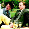 cambridge spies: have yellow trousers.