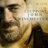 I support John