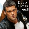 Dusty Saves Lives!!!