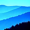 the halfelven hobbit princess: The Blue Ridge Mts. by til_midnight