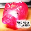 Piggy is Amused