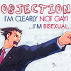 [PW] Phoenix - I'm not gay! I'm bisexual