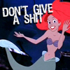 movie // mermaid // don't give a shit