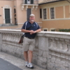 David at the Spanish Steps