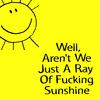 sunny, sarcasm