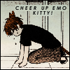 cheer up emo kitty kyo