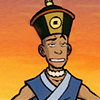 Fox: [avatar] Sokka - earth king