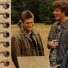 that kind of girl: [SPN] Sam and Dean smiling