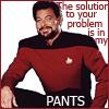 Riker pants