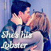 Friends - Ross & Rach -lobster