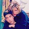 Friends - rachel on ross's back
