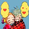 Hachi: shinshin~!