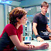 Havoc: lizzie/john desk sitting
