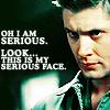 ~Jia~: SPN Dean's srs face