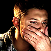 brigid_tanner: Dean-hand on face