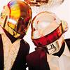Daft Punk mirrorball