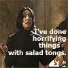 Snape Salad Tongs