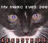 magic, eyes