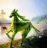 Зеленая лошадь