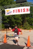 running - half marathon finish