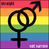 straight not narrow