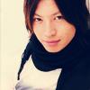 honeybeanlove: Ohkura-black scarf