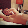 Helenka: Michael Shanks bare chested
