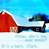 it's a barn Clark