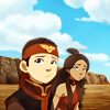 katara+aang // it's harder everyday