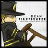 Jo: SPN: Chibi-Dean Firefighter