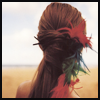 Feathers in her Hair
