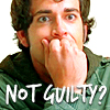 Syd Gill: A: Chuck - looking guilty
